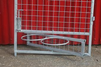 Swivel Bowl Holders Gates With Swivel Bowl Holders Both A