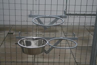 Dog Bowl Holders For Kennels