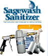 We are exclusive distributors for Sage Sanitizer